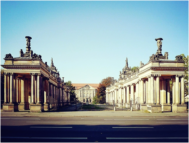 ASK柏林艺术学院周边环境--国王廊柱